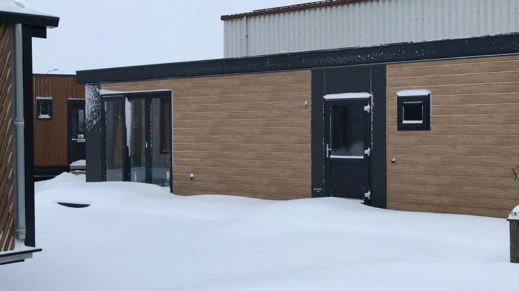 Our showroom in the snow! Call us for a video call…