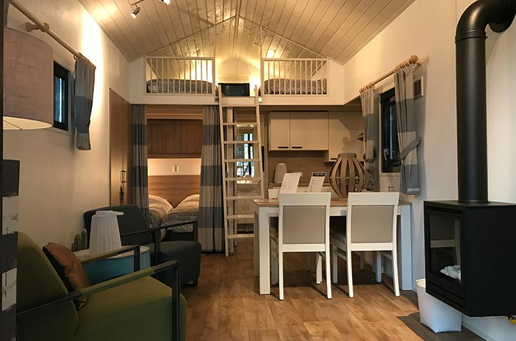 Showroom - Chalet Duinlodge