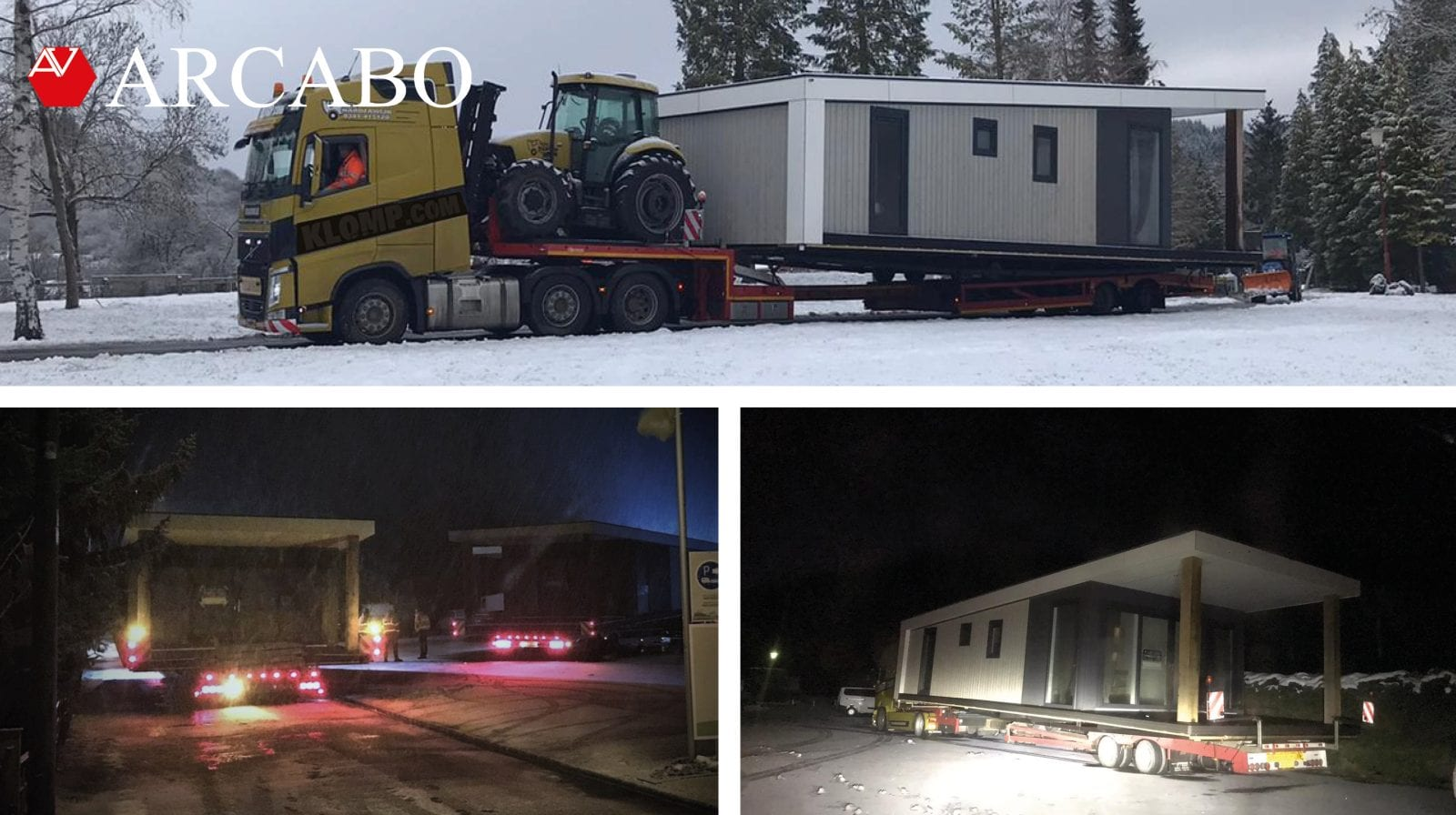 transport through the snow!